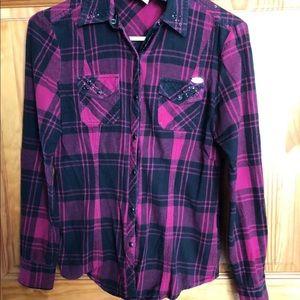 Harley Davidson flannel